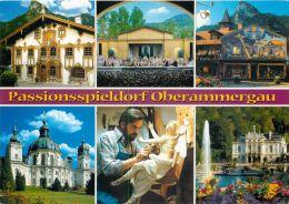 Oberammergau, Germany Postcard Used Posted To UK 2010 Stamp - Oberammergau