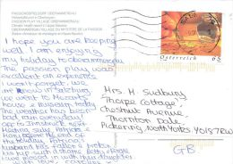 Oberammergau, Germany Postcard Used Posted To UK 2008 AUSTRIA Nice Stamp - Oberammergau