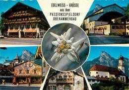 Oberammergau, Germany Postcard Used Posted To UK 1973 Stamp - Oberammergau