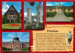 Potsdam, Germany Postcard Used Posted To UK 2010 Stamp - Potsdam