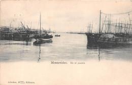 ¤¤  -  URUGUAY  -  MONTEVIDEO   -  En El Puerto  -  Le Port , Bateaux  -  Oblitération      -  ¤¤ - Uruguay