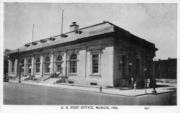 ¤¤  -  ETATS-UNIS  -  INDIANA  -  U.S. Post Office , MUNCIE     -  ¤¤ - Muncie