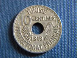 TUNISIE - 10 CENTIMES 1919. - Tunisia