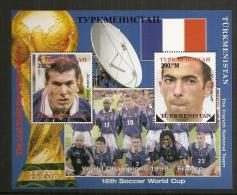 TURKMENISTAN - BF 24 **MNH - 1998 – France