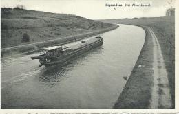 Eigenbilzen - Het Albertkanaal -Binnenschip - 1947 ( Verso Zien ) - Bilzen