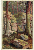 Theme Illustrateur Hansi Waltz Alsace 68  Alsace Mur Payen Serie Mont Saint Odile N°5 - Hansi