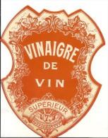Etiquette Vinaigre De Vin QQ Petits Trous - Autres