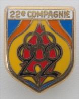 ECU POMPIERS - 22° Compagnie De La Brigade Des Sapeurs Pompiers De Paris - Pompiers