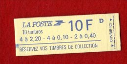 CARNET 1501 TYPE LIBERTE DELACROIX   ANNEE 1985  TRES BON ETAT - Carnets