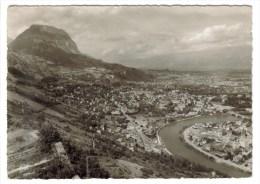 CPSM LA TRONCHE (Isère) - Vue Générale Et Le Saint Eynard - La Tronche