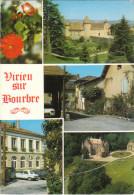 Carte Postale Des Années 70 De Virieu - Vues Multiples - Virieu