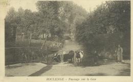 Roclenge Sur Geer -Paysage, Vaches S´abreuvant à La Rivière, Fermière - 1936 ( Voir Verso ) - Bassenge
