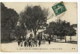 SAINT JEAN DE LIVERSAY - La Mairie Et L'Ecole. - France