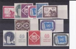 ONU - ANNEE COMPLETE 1951 ** - COTE YVERT = 29 EUR. - Ungebraucht