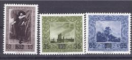 Liechtenstein1954:Michel326-8mnh** ART - Liechtenstein