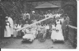 Hôpital De Wildbad Forêt Noire 1 Carte Photo 1914-1918 14-18 Ww1 WwI Wk Poilus - War, Military