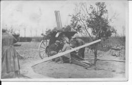 Flak DCA Artillerie Antiaérienne 1 Carte Photo 1914-1918 14-18 Ww1 WwI Wk Poilus - Guerre, Militaire