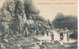 LE POULIGUEN   La Grande Côte Etude De Rochers  Animée - Le Pouliguen