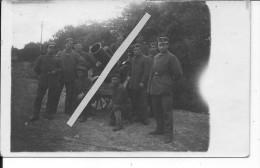 Minenwerfer De 250mm Sur Roues Avec Ses Servants 1carte Photo 1914-1918 14-18 Ww1 WwI Wk Poilus - War, Military