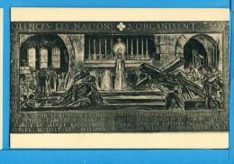 CP, CHEMIN DE CROIX Par Georges Desvallières, IVe Station - Jésus Rencontré à La Sainte Messe..., Vierge, RARE - Tableaux, Vitraux Et Statues