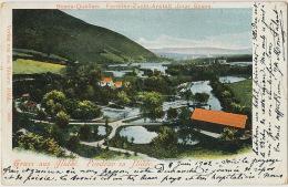 Gruss Aus Ilidze Bosna Quellen  Edit Tabory 5823 P. Used Und. K Milit. Post Ilidzé - Bosnie-Herzegovine
