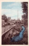 Cpa AYRENS Cantal, Les Deux Ponts, Eau Et Ciel Colorisés  (32.65) - France