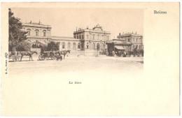 Dépt 51 - REIMS - La Gare - (attelages) - Reims