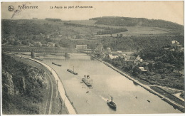 Anseremme Nels La Meuse Au Pont D Anseremme Serie 33 No 7  Timbrée Dinant 1902 - Belgique