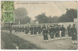 Fetes Septennales De St Feuillen A Fosses 1907 Edit Martin Hautecourt - Fosses-la-Ville