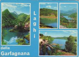 I Laghi Della Garfagnana-vedutine-viaggiata - Lucca