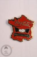 Coca Cola  France/ Paris - Merci A Nos Clients Pin Badge  - #PLS - Coca-Cola