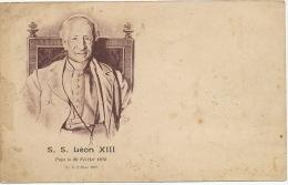 S.S. Leon XIII Pape Le 20 Fevrier 1878 Né Le 2 Mars 1810 A Carpineto Romano - Vatican