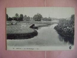 CP  AMIENS   N°90 LES HORTILLONNAGES   - ECRITE EN 1915 - Amiens