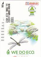 JAPON / TITRE DE TRANSPORT TOKYO / LIBELLULE - Vlinders