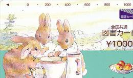 JAPON / TITRE DE TRANSPORT TOKYO / - Rabbits