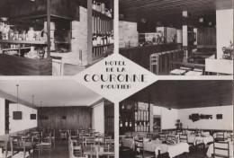 MOUTIER  -  Hôtel De La Couronne - Multivues  -  Carte Grand Format - France