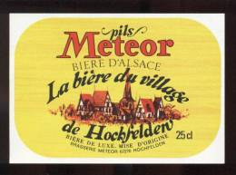 étiquettes De  Bière -   Météor  -  Brasserie Météor à  Hochfelden  (67) - Cerveza