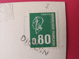 Griffe Annulation Digoin (71) Sur CP Saint Tropez (83)  - Scans Recto-verso - Marcophilie (Lettres)
