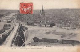 1912 ROUEN - PANORAMA PRIS DE SAINTE CATHERINE - Rouen