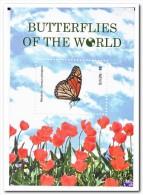 Nevis Postfris MNH, Butterflies Of The World - St.Kitts En Nevis ( 1983-...)
