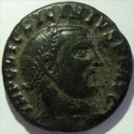 LOT 1087:  LICINIUS PERE - IOVI CONSERVATORI AVGG - ANTIOCHE - RIC 73  -   LOURDE 4,44 GRAMMES POUR 20 MM - Roman