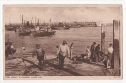 ROYAUME UNI  - FOLKESTONE - Fish Market In Harbour - Folkestone