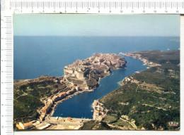 BONIFACIO  -  Vue Spectaculaire Du Port Et De La Ville Sur Les Falaises ................. - Autres Communes