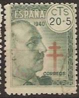 España U 0937 (o) Franco. Tuberculosos - 1931-Today: 2nd Rep - ... Juan Carlos I