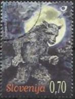 SI 2009-733 FABELWESEN WERWOLF, SLOVENIA, 1v, Used - Märchen, Sagen & Legenden