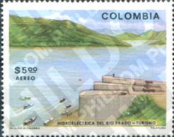 Ref. 178003 * MNH * - COLOMBIA. 1979. CENTRAL HIDROELECTRICA DEL RIO DEL PRADO - Agriculture