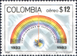 Ref. 178335 * MNH * - COLOMBIA. 1983. 50 ANIVERSARIO DE LA LIGA COLOMBIANA DE RADIOAMATEURS - Telecom