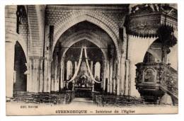 CP, 59, STEENBECQUE, Intérieur De L'Eglise, Vierge