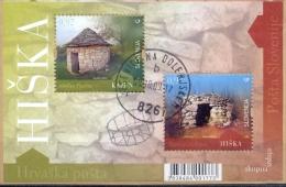 SI 2009-739-40 JOINT ISSUES SLOVENIA CROATIA, SLOVENIA, S/S, Used - Gemeinschaftsausgaben