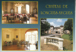 LONGUES-AYGUES  (82) Et Son Magnifique Château -  Très Belle Carte Multi Vues - Francia